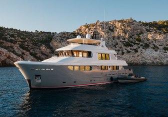 Seal yacht charter Jade Yachts Motor Yacht