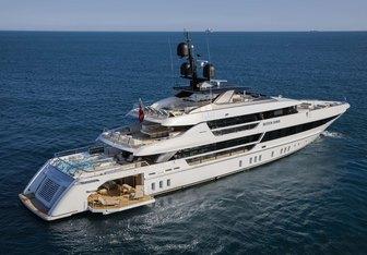 Seven Sins yacht charter Sanlorenzo Motor Yacht