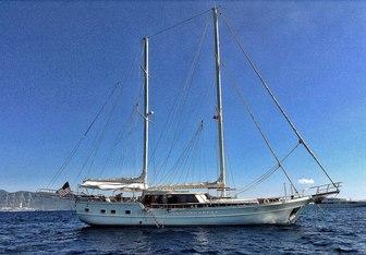 Lady Elizabeth yacht charter Custom Sail Yacht