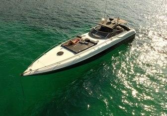 007 yacht charter Sunseeker Motor Yacht