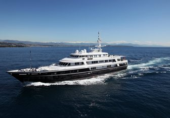 Virginian yacht charter Feadship Motor Yacht