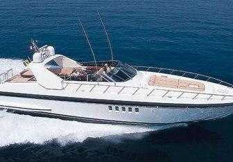 Take Off yacht charter Overmarine Motor Yacht