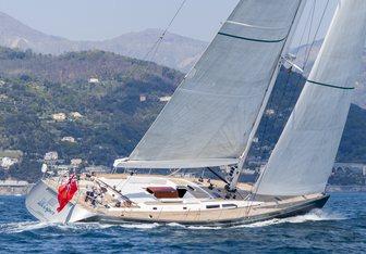 Elise Whisper charter yacht interior designed by Nauta Yachts