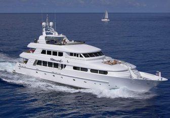 Charlotte Ann charter yacht exterior designed by Mulder Design