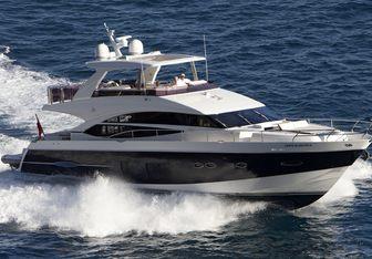 Carte Blanche III yacht charter Princess Motor Yacht