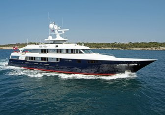 Helios 2 yacht charter Palmer Johnson Motor Yacht