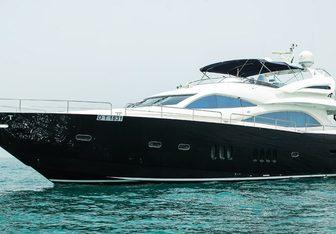 Notorious yacht charter Sunseeker Motor Yacht