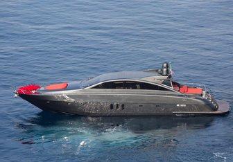 Forza 8 yacht charter Jaguar Yachts Motor Yacht