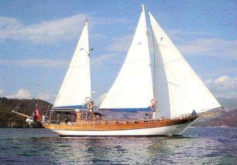 Amra Yacht Charter in Turkey