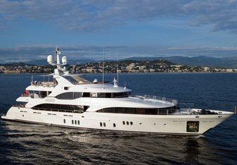 Hom yacht charter Benetti Motor Yacht