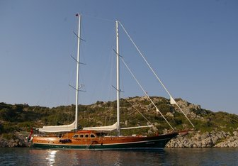 Bedia Sultan yacht charter Unknown Sail Yacht