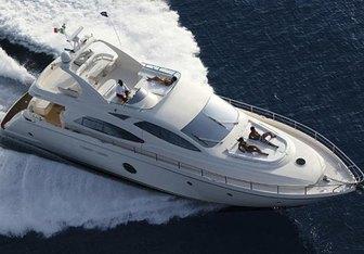 Lucignolo yacht charter Aicon Motor Yacht