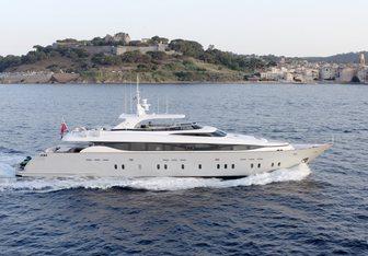 M yacht charter Maiora Motor Yacht