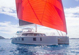 Orion yacht charter Sunreef Yachts Motor/Sailer Yacht