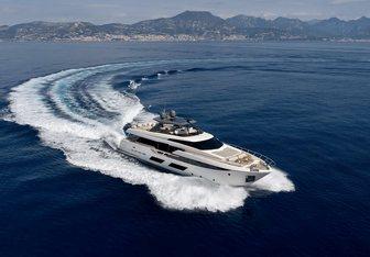 Alegria II yacht charter Ferretti Yachts Motor Yacht
