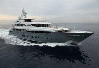2 Ladies yacht charter Rossi Navi Motor Yacht