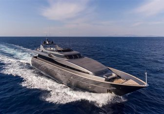 Summer Dreams charter yacht exterior designed by Admiral Yachts