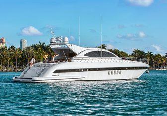 YCM yacht charter Overmarine Motor Yacht