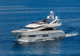 Lady Mura yacht charter Dominator Motor Yacht