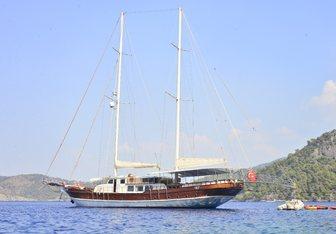 Berrak Su yacht charter Fethiye Shipyard Motor/Sailer Yacht