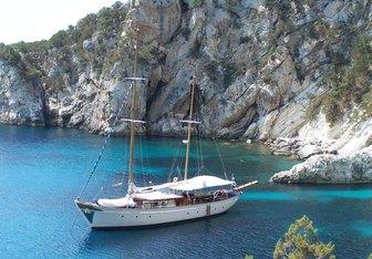 Astarte yacht charter Psaros Shipyard Sail Yacht