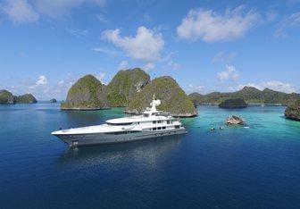 April yacht charter Amels Motor Yacht
