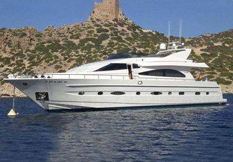 Dandy D charter yacht exterior designed by Nuvolari Lenard