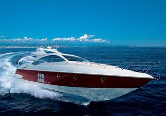 Leonard charter yacht interior designed by Carlo Galeazzi