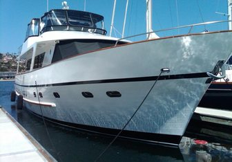 Zia yacht charter Custom Motor Yacht