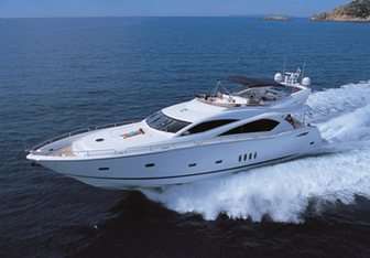 Serenity yacht charter Sunseeker Motor Yacht