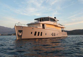 Simay F yacht charter Custom Motor Yacht
