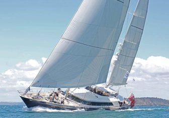 Silencio yacht charter Perini Navi Sail Yacht