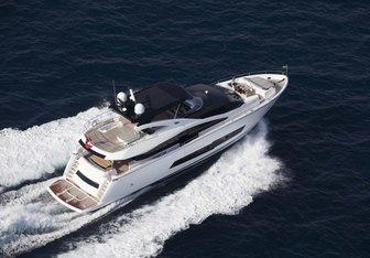 Insomnia yacht charter Sunseeker Motor Yacht