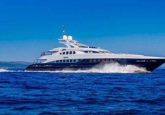 Agram yacht charter Heesen Motor Yacht