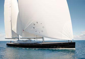 Vertigo charter yacht interior designed by Christian Liaigre