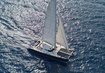 Azizam yacht charter JFA Chantier Naval Sail Yacht
