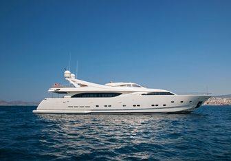 Whisper V yacht charter Custom Line Motor Yacht