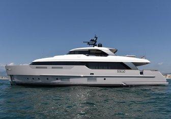 Malkia yacht charter Sanlorenzo Motor Yacht