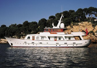 As You Like It charter yacht exterior designed by De Vries Lentsch
