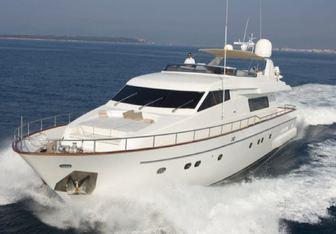 Nel Blu yacht charter Sanlorenzo Motor Yacht