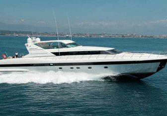Lauren V yacht charter Overmarine Motor Yacht