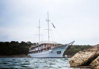 Magellan yacht charter Custom Sail Yacht