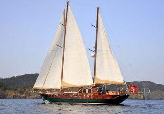 Mikado yacht charter Custom Sail Yacht