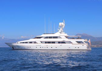 Mistress Yacht Charter in Porto Cervo