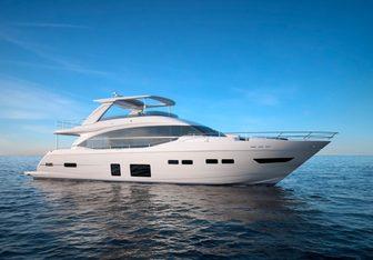 Lemon Not Lime yacht charter Princess Motor Yacht