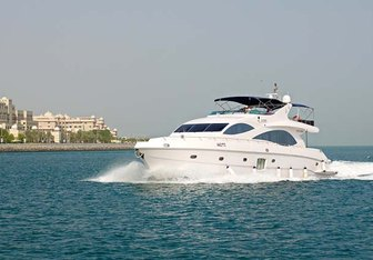 Infinity 1 charter yacht exterior designed by Massimo Gregori