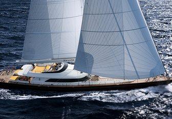 Blush yacht charter Perini Navi Sail Yacht