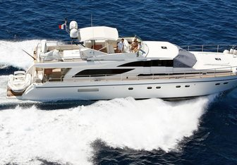 ZINA yacht charter Couach Motor Yacht
