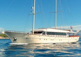 Son De Mar yacht charter Custom Sail Yacht