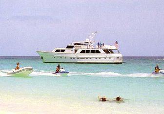 Trilogy yacht charter Stephens Motor Yacht